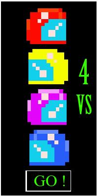 Jeux 4 joueurs 1 clavier HTML5